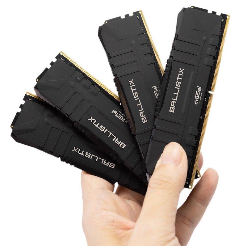 【開箱】大就是比較好!Crucial Ballistix DDR4-3600,實測32GB vs 16GB差異有多少!
