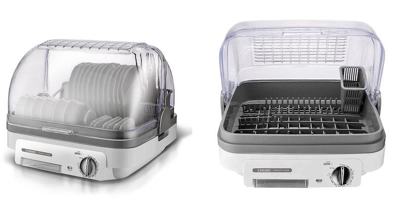日本獨家Zeomic抗菌專利,抗菌X防霉X除臭奇美菌烘碗機KD-06PH00一機到位