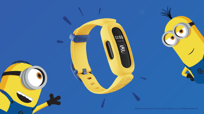 Fitbit特別版Ace 3「小小兵」兒童智慧手環,鼓勵孩子動起來
