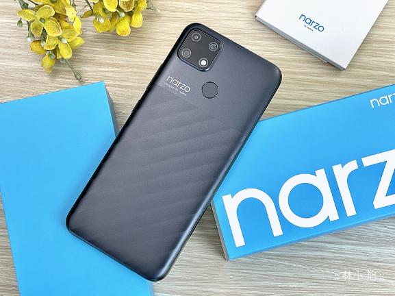 【開箱】平價6000mAh超大電量「realme narzo 30A」智慧型手機